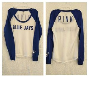 PINK Victoria's Secret Blue Jays Tee